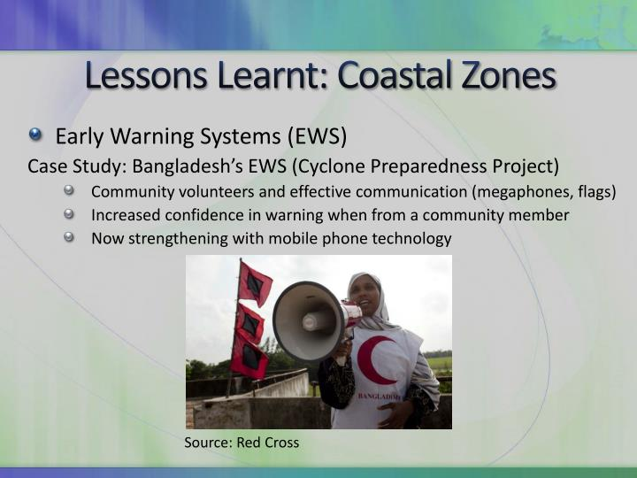 Lessons Learnt: Coastal Zones