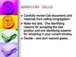 handling calls3