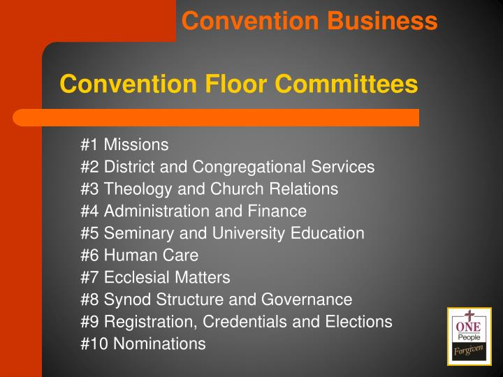 Convention Business