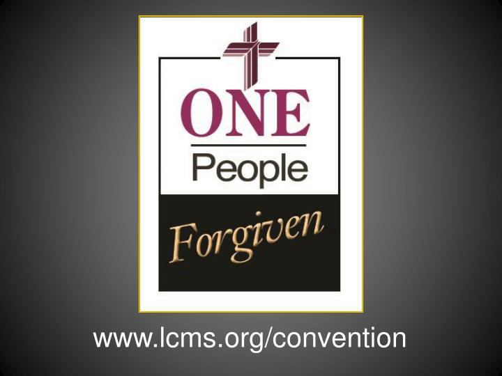 www.lcms.org/convention