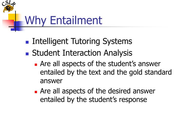 Why entailment