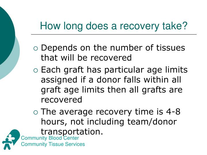 How long does a recovery take?