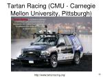 tartan racing cmu carnegie mellon university pittsburgh