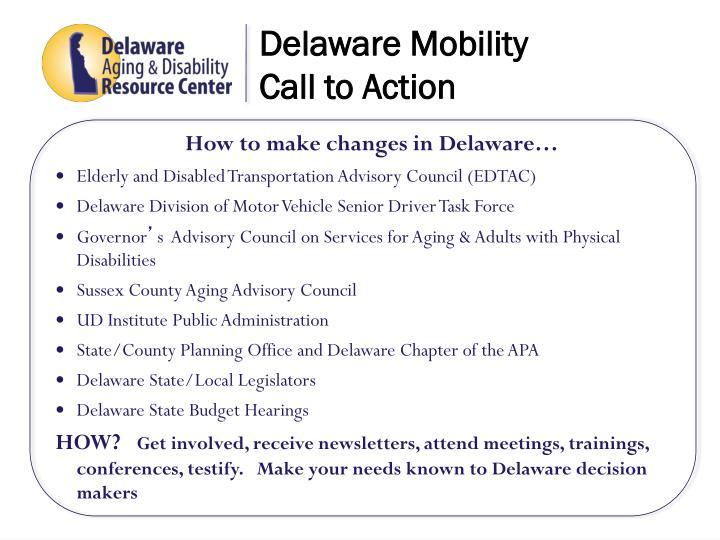 Delaware Mobility