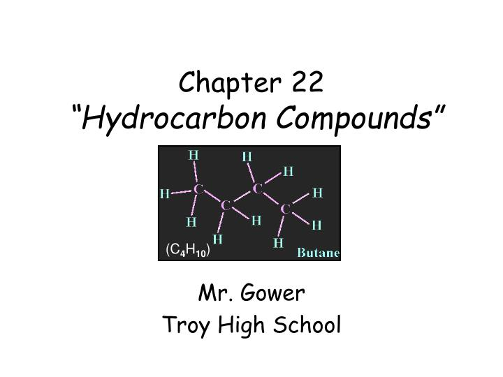 chapter 22 hydrocarbon compounds n.