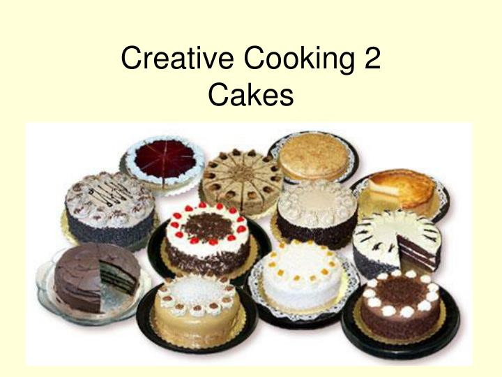 creative cooking 2 cakes n.