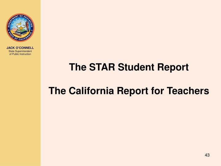 The STAR Student Report
