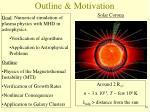 outline motivation