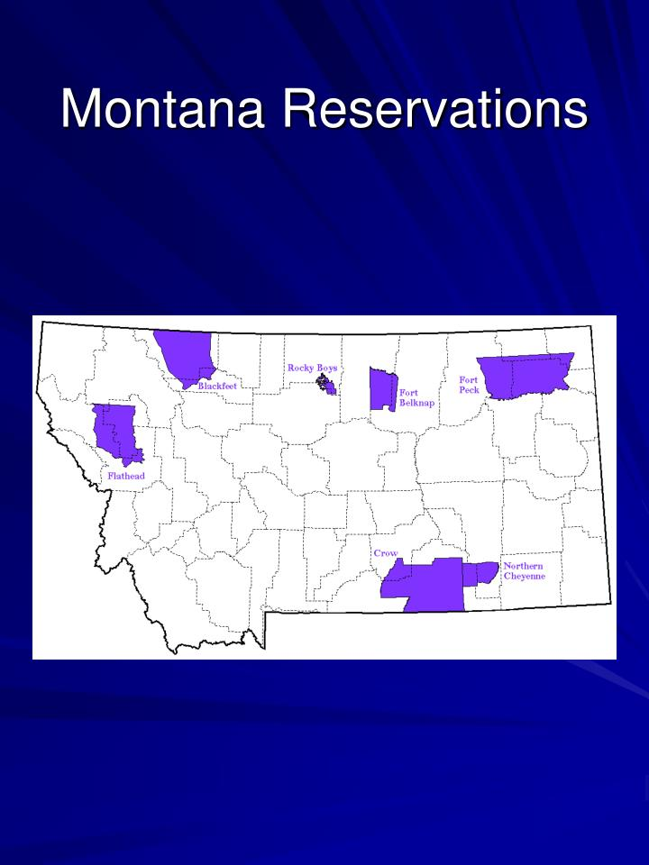 Montana Reservations