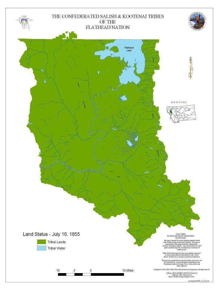 The confederated salish and kootenai tribes