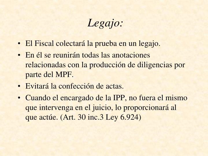 Legajo:
