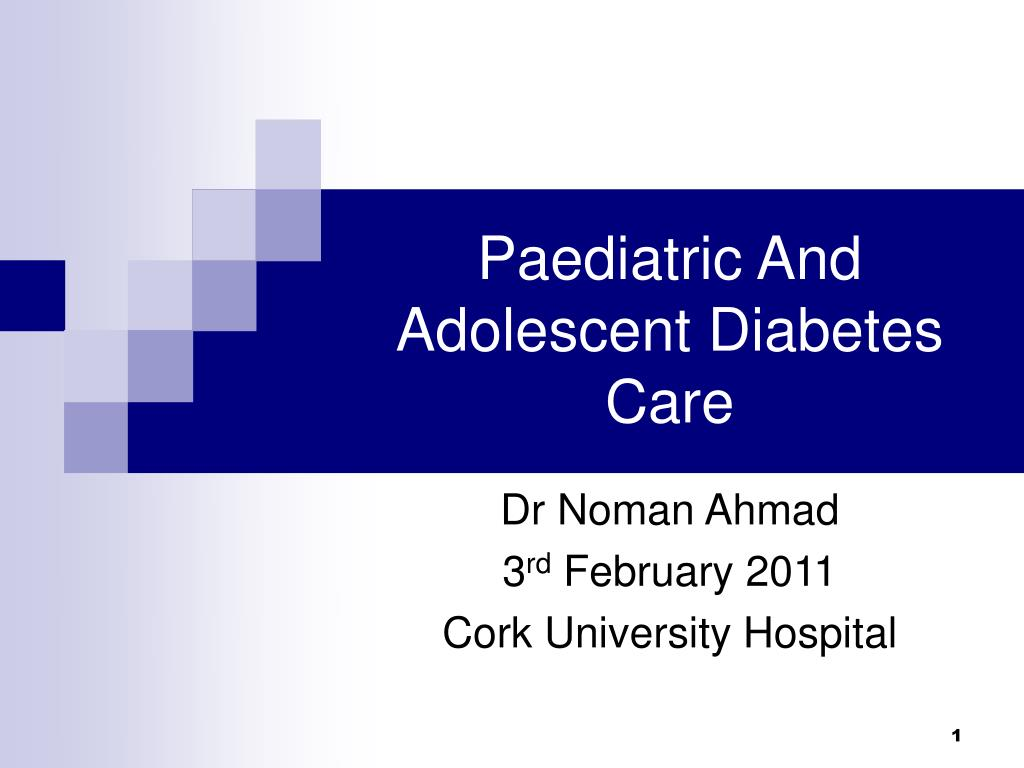 PPT - Paediatric And Adolescent Diabetes Care PowerPoint