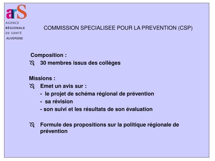 Composition :