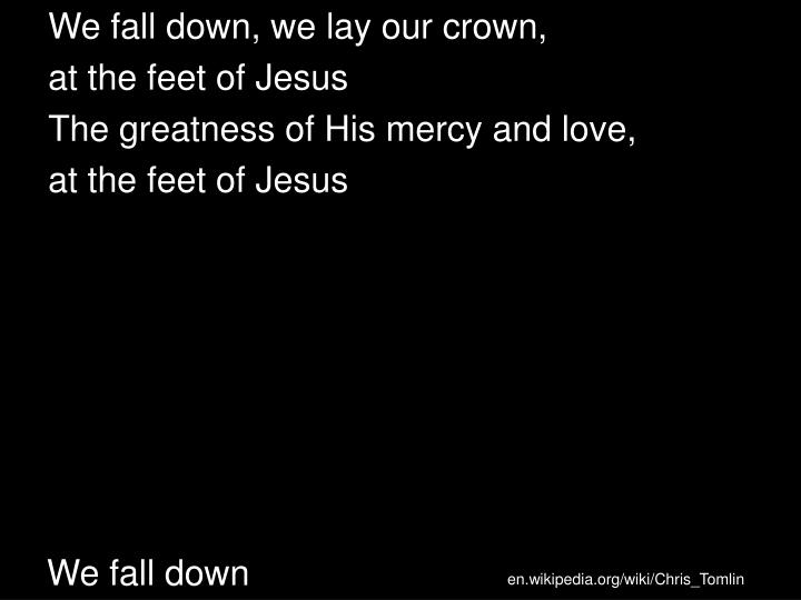 we fall down n.