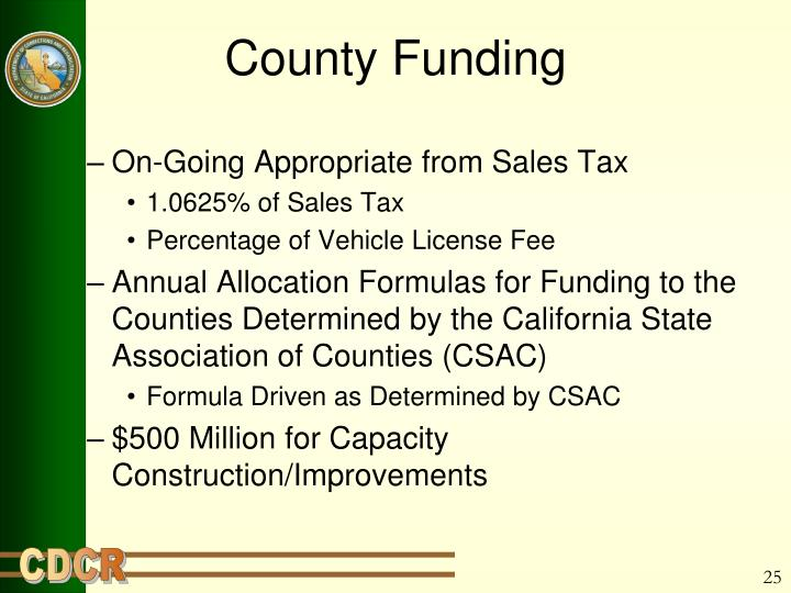County Funding
