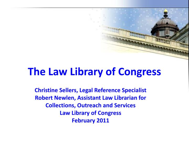 the law library of congress n.