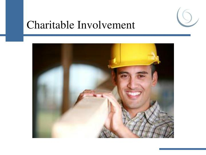 Charitable Involvement