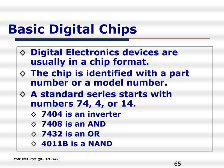 Basic Digital Chips