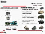 otokar s profile product range