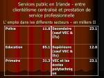 services public en irlande entre client lisme centralis et prestation de service professionnelle3