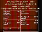 services public en irlande entre client lisme centralis et prestation de service professionnelle4