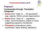 contextualising case law iii