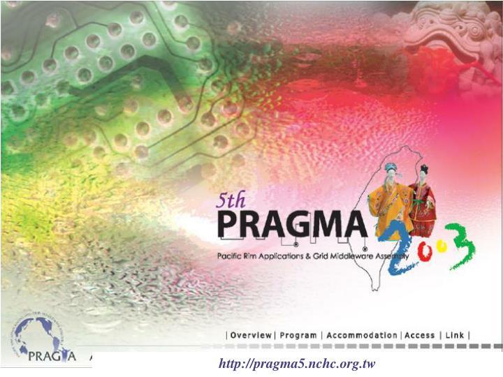 http://pragma5.nchc.org.tw