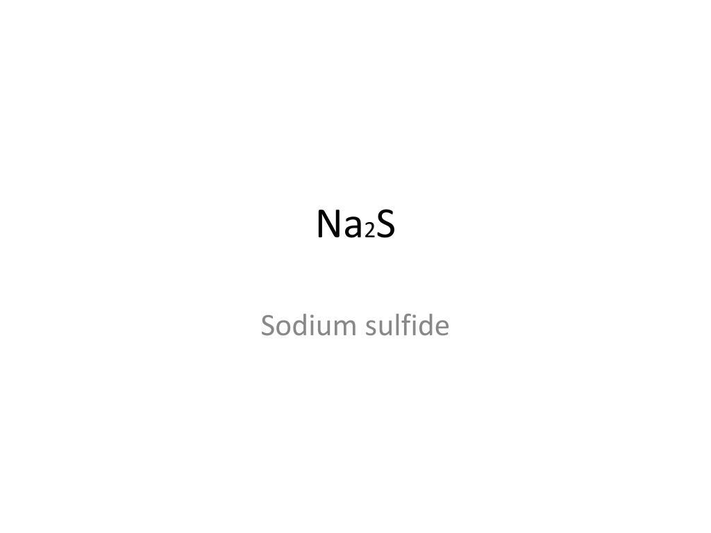 PPT - Calcium Sulfide PowerPoint Presentation - ID:3730769