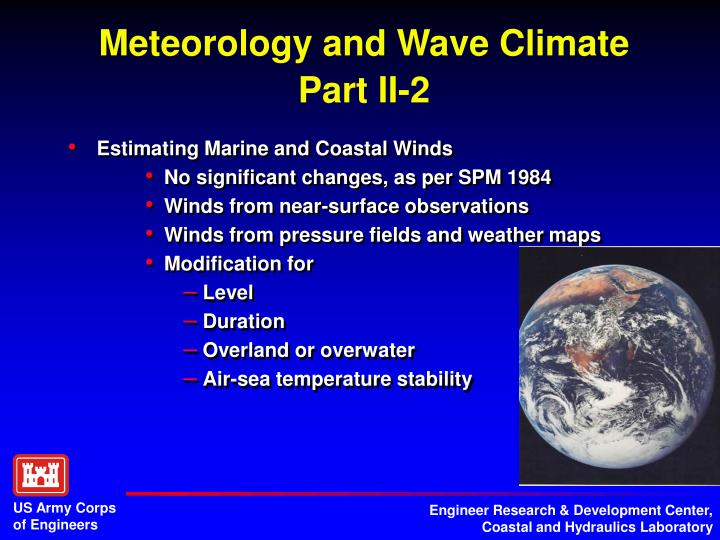 Meteorology and Wave Climate