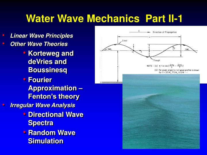 Linear Wave Principles