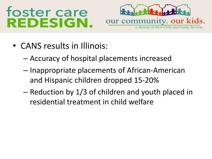 CANS results in Illinois: