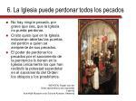 6 la iglesia puede perdonar todos los pecados