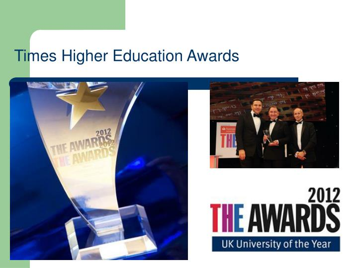 Times Higher Education Awards