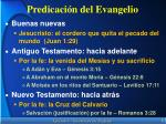 predicaci n del evangelio
