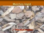 mulches used1