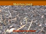 mulches used4