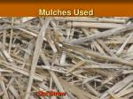 mulches used6
