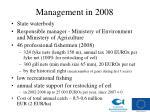 management in 200 8