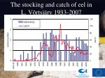 the stocking and catch of eel in l v rtsj rv 1933 200 7