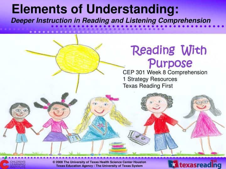 CEP 301 Week 8 Comprehension
