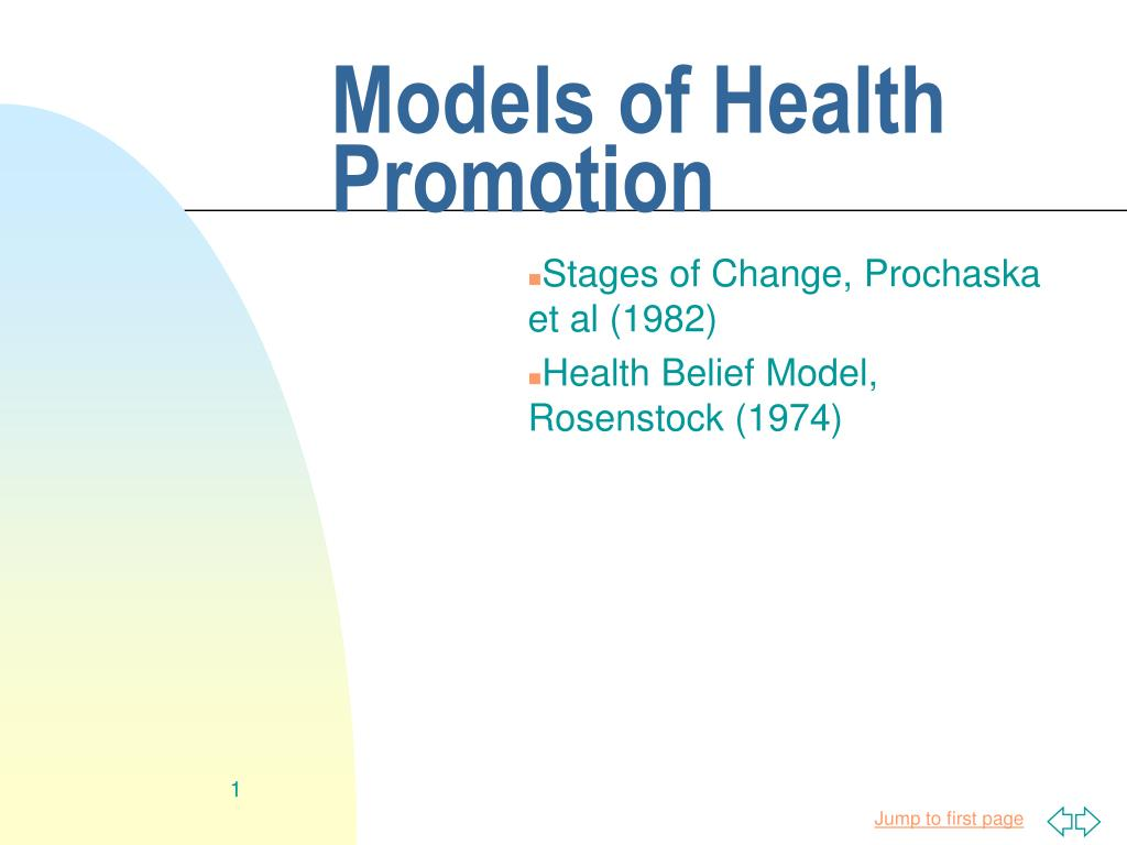 Ppt Models Of Health Promotion Powerpoint Presentation Id3732794