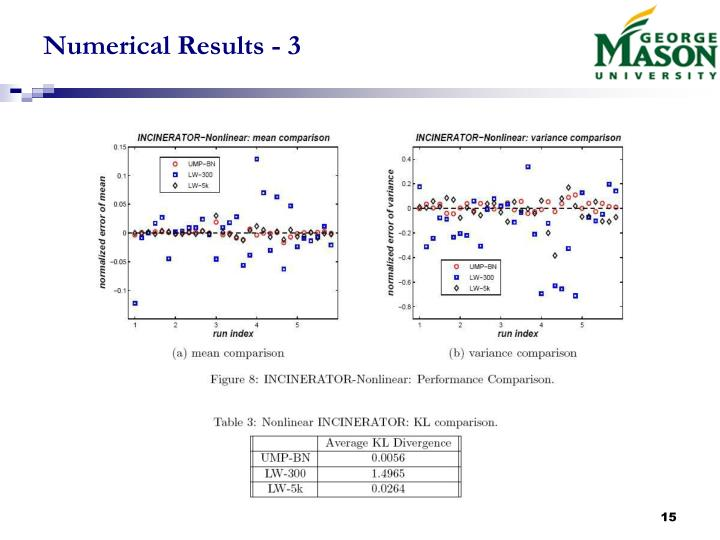 Numerical Results - 3