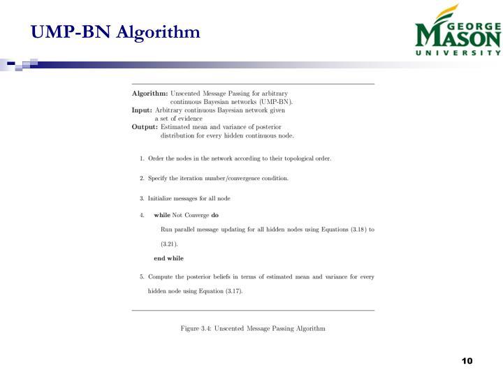UMP-BN Algorithm