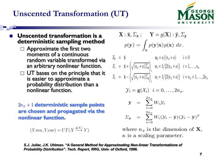 Unscented Transformation (UT)