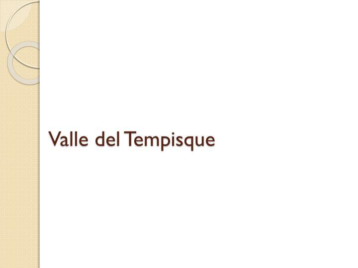 Valle del Tempisque