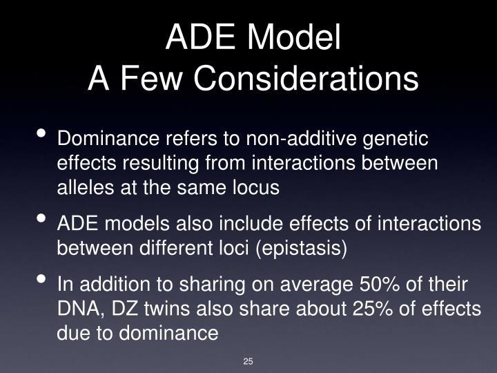 ADE Model