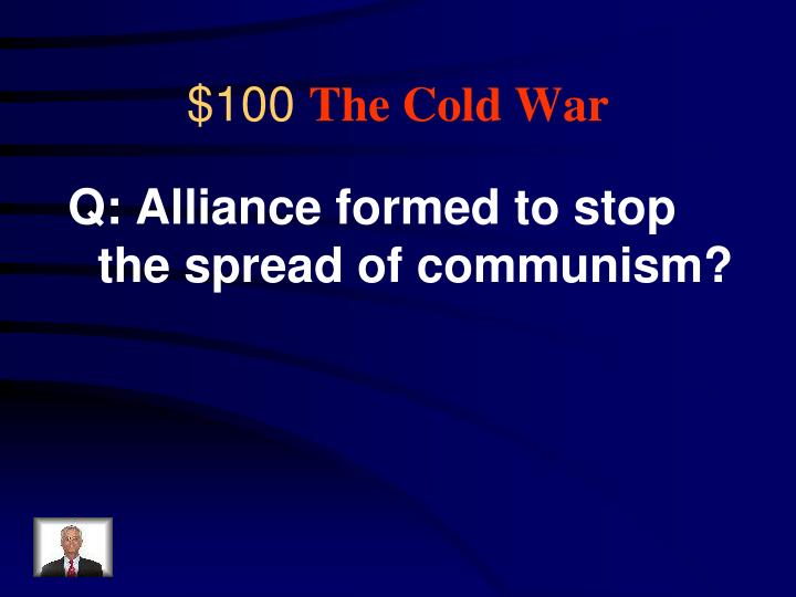 100 the cold war