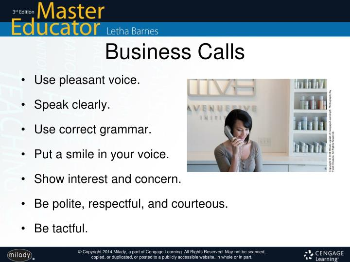 Business Calls