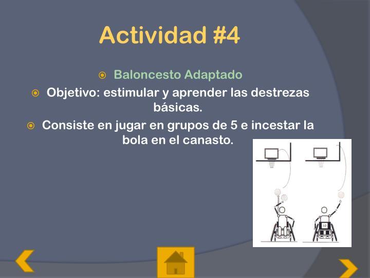 Actividad
