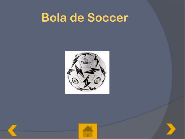 Bola de Soccer